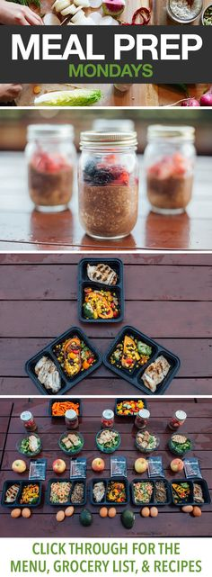Meal Prep This Week with Stuffed Sweet Potatoes, Chicken with Broccoli, and More! Click through for all the details on this delicious meal prep menu. // 21 Day Fix approved // meal prep Monday // healthy eating // clean eating // overnight oats // beachbody | BeachbodyBlog.com
