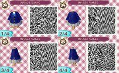K-ON! school uniform (Animal Crossing: New Leaf QR code)