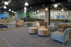 Towson Family Center YMCA Project Featuring Shaw Contract Group Commercial Flooring - Jeogori