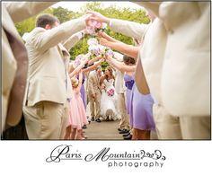 Paris Mountain Photography wedding group photos wedding party photos