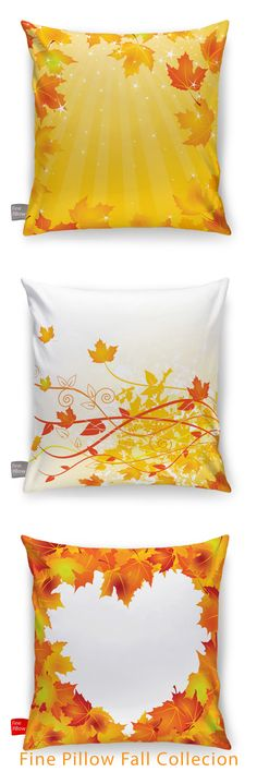 #finepillow Fall Collection.  #comfortablepillows #luxurypillows  #shapeablepillows