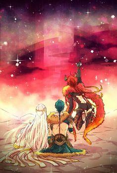Kamigami no Asobi -Balder, Thor & Loki