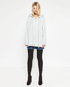 Image 1 of OVERSIZED SWEATSHIRT from Zara