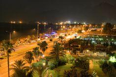 Antalya Konyaaltı by night
