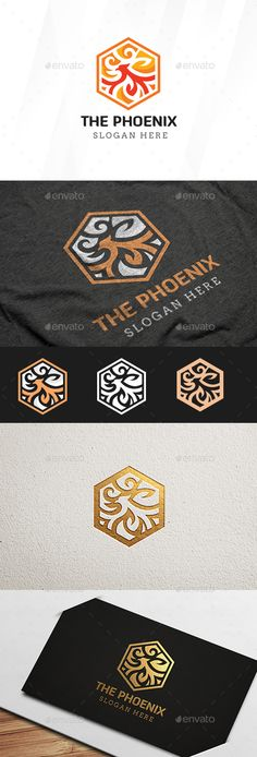 The Phoenix Logo Template — Vector EPS #bird #wings • Download ➝ https://graphicriver.net/item/the-phoenix-logo-template/19662454?ref=pxcr