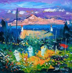 Beehives, Iona. by John Lowrie Morrison (Jolomo)
