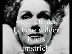 """Elisabeth Schwarzkopf singt  """" An die Musik""""  von Schubert"""