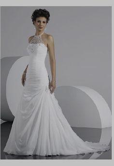 high neck wedding dresses
