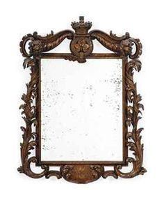 A VICTORIAN PAPIER-MACHE MIRROR | BY CHARLES FREDERICK BIELEFELD, CIRCA 1840 | Private Collections & Country House Sales Auction | Christie's