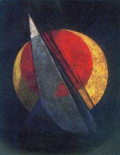 Alexander Rodchenko. Composition (Winning Red), 1918