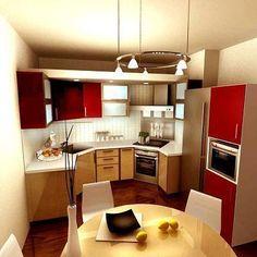 Дизайн маленькой кухни 6