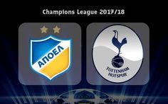 Apoel Nicosia Vs Tottenham (27.09.2017)