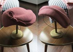 40er Jahre - 30er Jahre Cloche Pillbox 40er Jahre Hut Filzhut - ein Designerstück von Antia-die Hutmacherin bei DaWanda