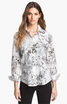 Foxcroft 'Wild Rose' Shirt available $52.93