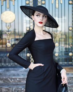 """4,714 Likes, 36 Comments - Idda van Munster (@iddavanmunster) on Instagram: """"The YAKUBoWITCH brand is all about the perfect black dress. The black dress master…"""""""