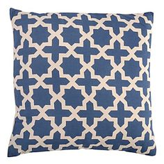Cojín Cruces Azul-Falabella.com