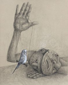 It has been the last weekend to see on exhibition the always in calm, but psychological disturbing pencil drawings of Stefan Zsaitsits. The fans of the artist could breathe of satisfaction. Realistic Pencil Drawings, Art Drawings Sketches, Bipolar Art, Art Du Croquis, Best Pencil, Night Driving, Sculpture, Color Stories, Art Auction