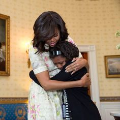 """""""The measure of any society is how it treats its women and girls."""" - Michelle Obama #becauseofthemwecan #becauseofthemwemust"""