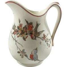 Antique Powell Bishop & Stonier Pottery Creamer