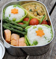 Bento Boxes - These probably deserve their own category.  I ran across this site today.  So timely since school just started.  Great ideas for work lunches as well.