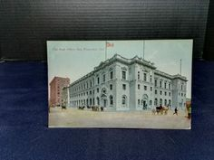 The Post Office, San Francisco, CA. Pub: Newman Post Cards,  6/7/1900 STAMP