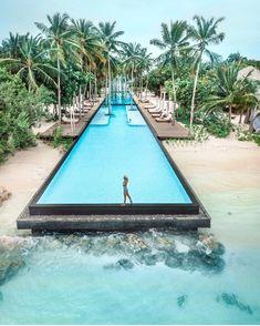 Fairmont Maldives Sirru Fen Fushi _______________________ Tag your photos → #maldivesmania for your chance to be featured ┄┄┄┄┄┄┄┄┄┄…
