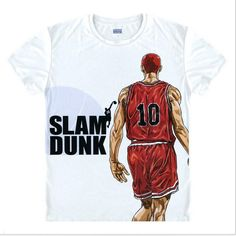 Special price SLAM DUNK T shirt Japan Fashion Anime t-shirt Hanamichi Sakuragi Cosplay t shirts Shohoku School Team Jersey Shirt just only $10.01 with free shipping worldwide  #tshirtsformen Plese click on picture to see our special price for you