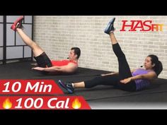 10 Min Lower Ab Workout for Women & Men - 10 Minute Ab Workout - Lower Abs Belly Fat Flattener - YouTube