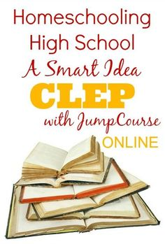 JumpCourse: Homeschool High School with Online CLEP Courses | Our Journey Westward