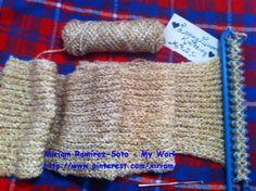 Loom Knitting along,♥LMW-MRS♥ I love Loom Knitting!