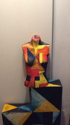 Painted mannequin- Augusto Zerbi- www.augustozerbi.com My Works, Captain America, Superhero, Painting, Fictional Characters, Art, Art Background, Capitan America, Painting Art