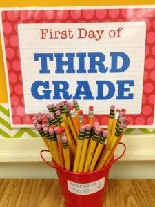 First Day of Third Grade  Ms. Miedema's Classroom Blog — 3rd Grade at Cora Kelly