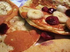 Brown Rice Protein Pancakes: Reader sunshineee shared her recipe for brown rice protein pancakes.