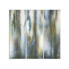 Uttermost Moonglow by Grace Feyock: 20 x 60-Inch Modern Art, Set of... ($482) ❤ liked on Polyvore featuring home, home decor, wall art, handmade wall art, colorful wall art, colorful home decor, handmade home decor and uttermost home decor
