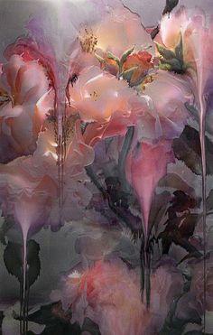 Melting Flora by Nick Knight