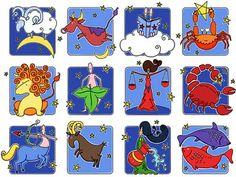 Rebecca (Becky) Wallis Illustration: signs of the zodiac/horoscope signs/astrology. Marriage Astrology, Love Astrology, Love Horoscope, Horoscope Signs, Zodiac Horoscope, Zodiac Signs, Libra, Horoscope Reading, Zodiac Art