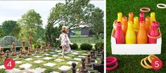 Planning a Memorial Day get-together? These fun backyard game ideas will have your whole party hopping, tossing, and toppling.