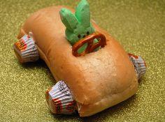 Hugs & CookiesXOXO: A PEEP PEANUT BUTTER & JELLY RIDE!