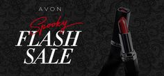 Forget the candy, treat yourself to Avon makeup during the Spooky Flash Sale! #AvonRep