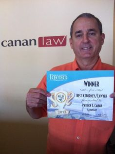 Voted Best Attorney/Lawyer in St. Augustine!!