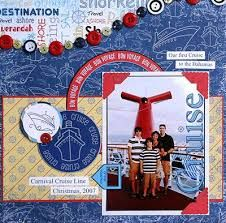 Image result for carnival cruise scrapbook
