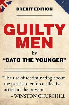 Book Review: Guilty Men: Brexit Edition by Cato the Younger | LSE Review of Books