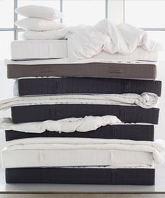 Recycle your old mattress! Most IKEA stores in Canada offer a mattress recycling service if you purchase delivery of your new IKEA mattress.
