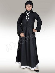 Adeeva Abaya!   Style No: Ay-108WH   Shopping Link  : http://www.mybatua.com/adeeva-abaya-383   Available Sizes XS to 7XL (size chart: http://www.mybatua.com/size-chart/#ABAYA/JILBAB)