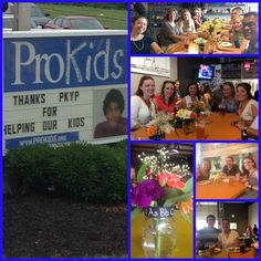 The ProKids Young Professionals (PKYP) came together to gather school supplies for ProKids children. Thank you!!