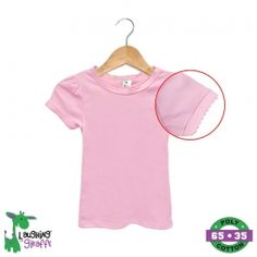 dfd5fb3abbf Girls blank tees t-shirts - wholesale Blank Pink