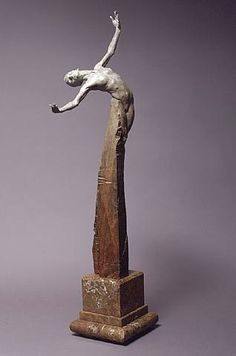 """Brilliance"" Bronze h: 45 x w: 15 x d: 10 in #art #Sculpture #RichardMacDonald"