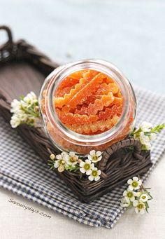 Candied orange peel by LinhTrang9185, via Flickr
