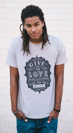 Look good & do good! Every #Sevenly shirt purchased donates $7 to charity and impacts a life. Dress for change!