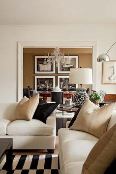 super schöne Eierschalenfarben für ein modernes Wohnzimmer